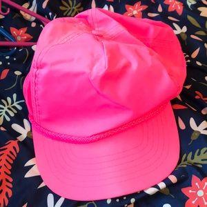 Vintage neon pink SnapBack